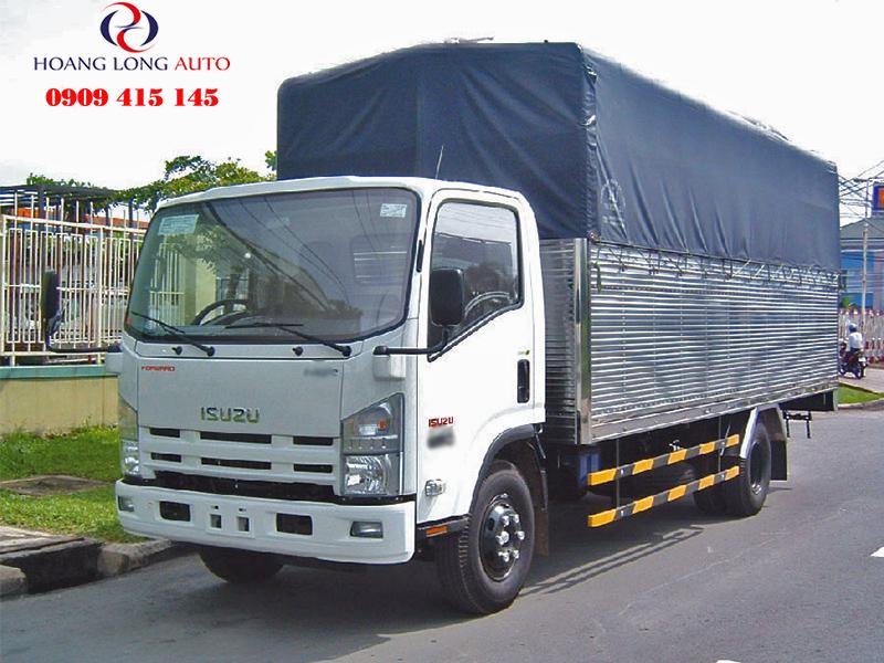 Isuzu NK490 thung mui bat