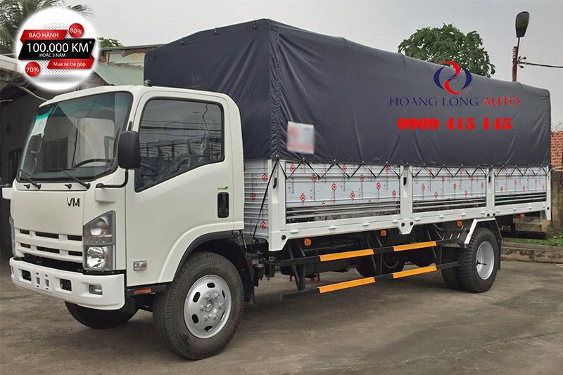 Xe tải Isuzu 8 tấn thùng mui bạt