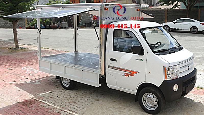 xe tai dongben 870kg thung canh doi