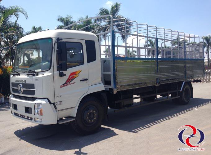 Xe tải thùng Dongfeng 2 chân