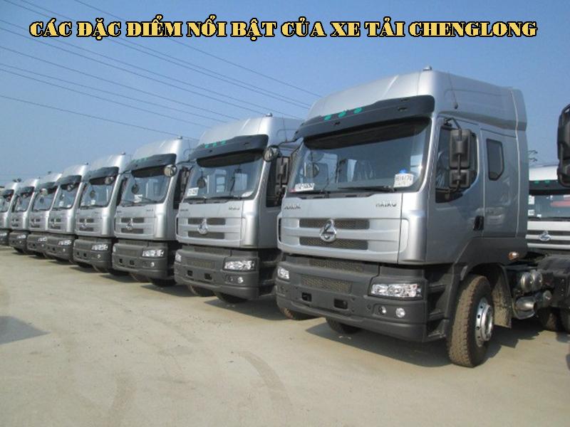 Các đặc điểm nổi bật của xe tải Chenglong