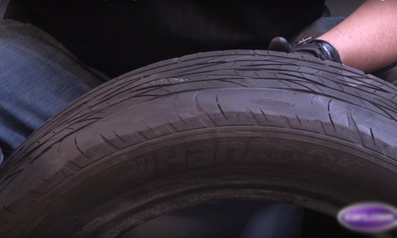 Lốp xe mòn không đều