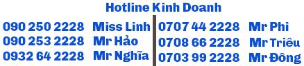 hotline phòng kinh doanh
