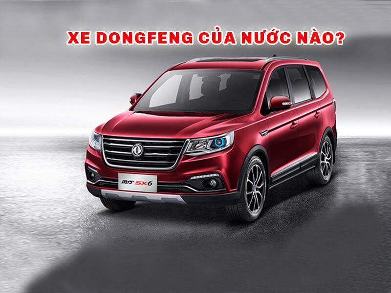 Xe Dongfeng của nước nào