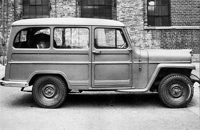 Willy-Jeep một trong những chiếc SUV đầu tiên trên thế giới