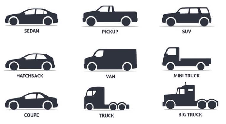 Các loại xe ô tô