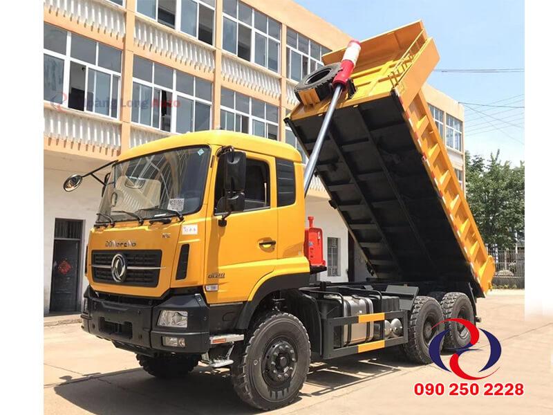 xe tải ben dongfeng 15 tấn
