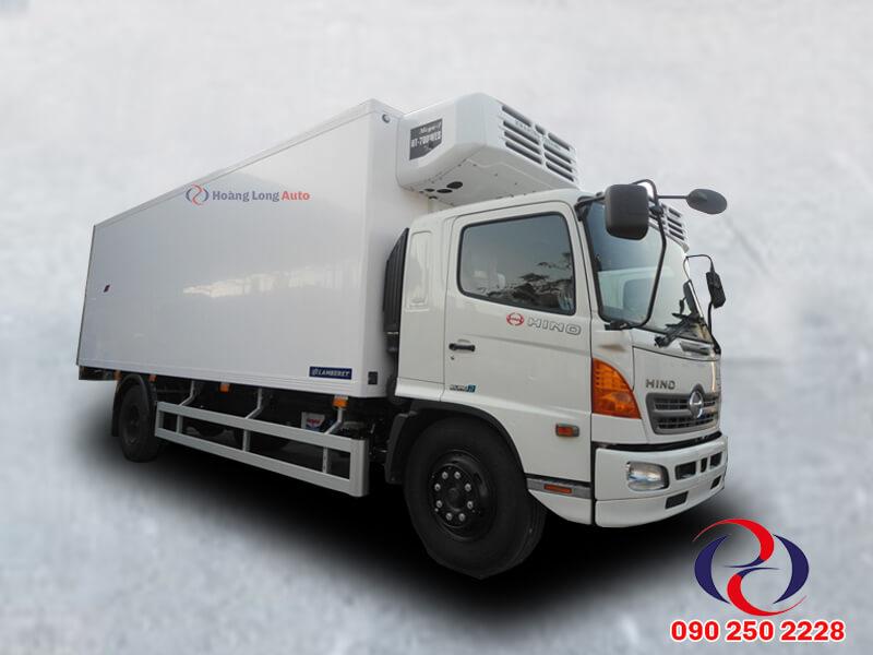 Hino 8T thùng đông lạnh