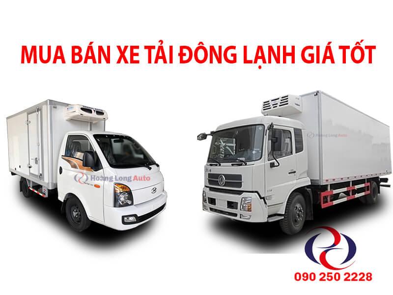 bán xe tải đông lạnh
