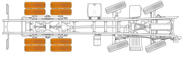 Hình ảnh mô phỏng chassis và trục xe