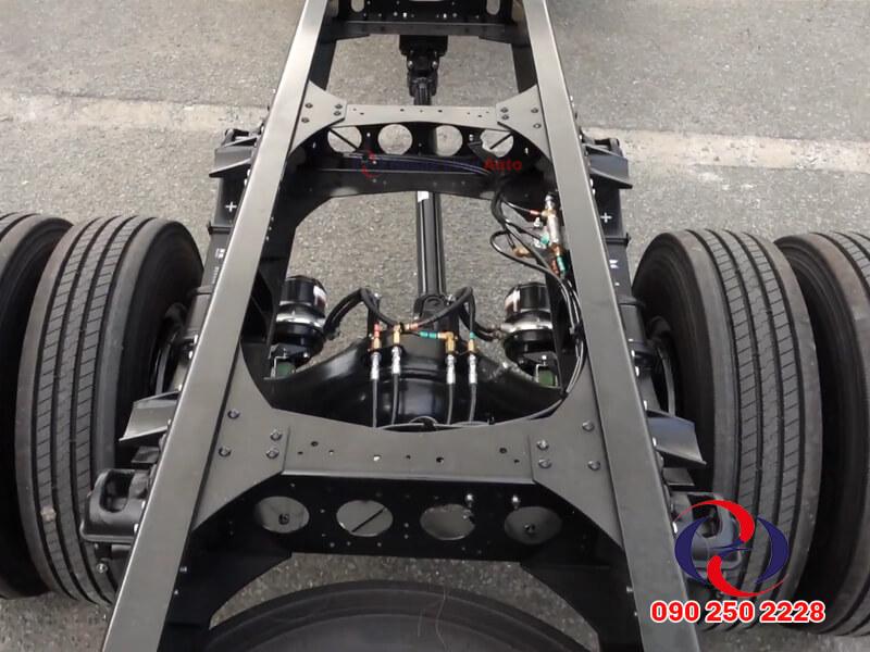 Hệ thống khung gầm chassis cứng cáp