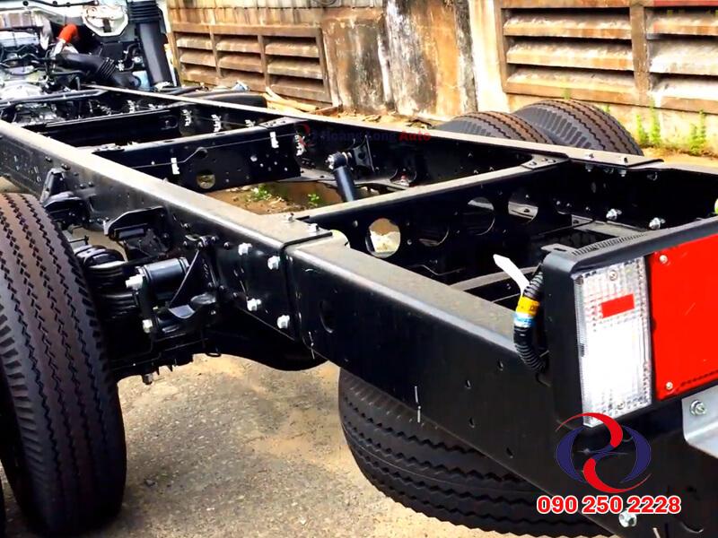 Khung gầm chassis chắc chắn