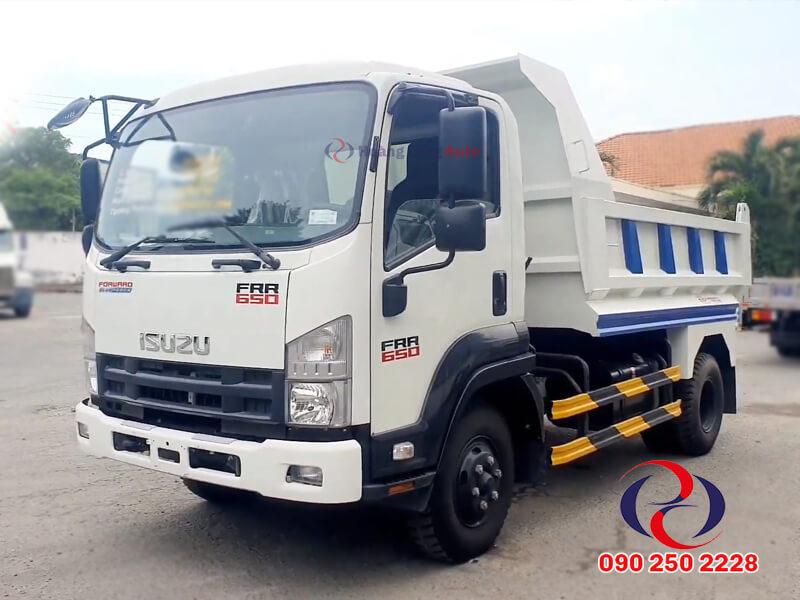 Xe tải ben 6 tấn Isuzu Frr650