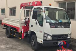 Xe tải gắn cẩu Isuzu 1t9