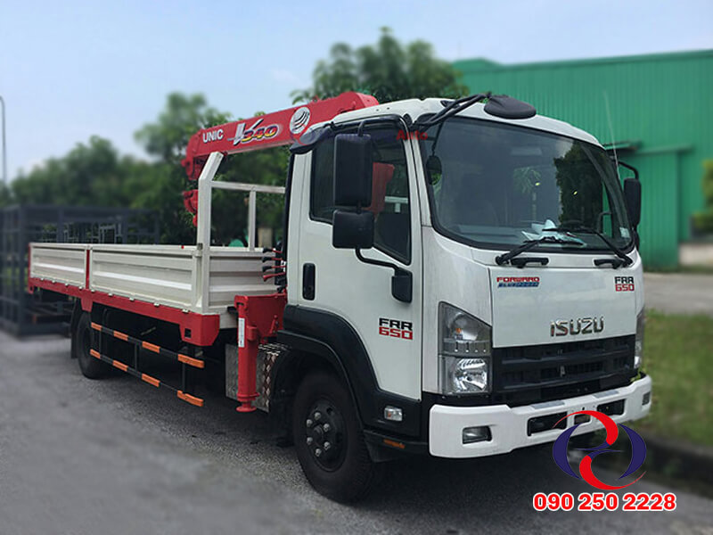 Xe tải cẩu Isuzu 7 tấn