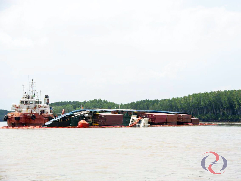 khai báo VGM chính xác sẽ đảm bảo an toàn, không gây ra tình trạng đắm tàu